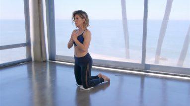 At Home Slider Workout / Towel Exercises- Jillian Michaels