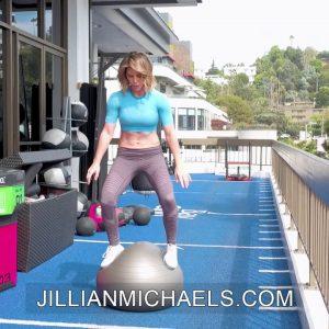 BODY BALL CHALLENGE EXERCISES - Jillian Michaels