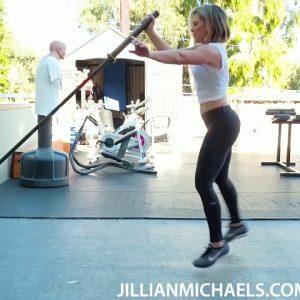 LANDMINE WORKOUT LEGS BUTT ABS SHOULDERS - JILLIAN MICHAELS
