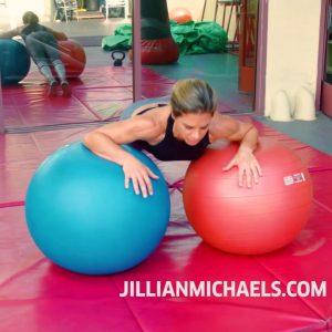 TOTAL BODY EXERCISE BALL WORKOUT - JILLIAN MICHAELS