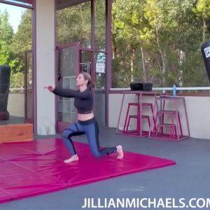 TOTAL BODY FAT BURNING HOME WORKOUT NO EQUIPMENT - JILLIAN MICHAELS
