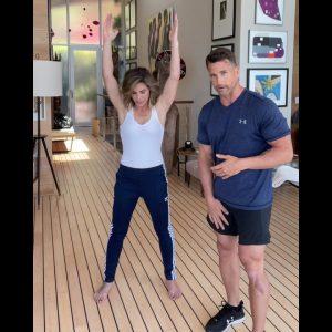 Corrective exercises to fix knee pain, hip shift, improve mobility - Jillian Michaels