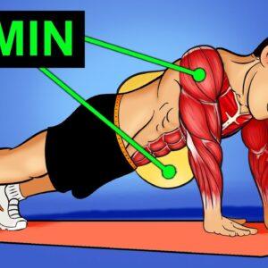 10 MIN Fat Burning Workout (NO EQUIPMENT!)