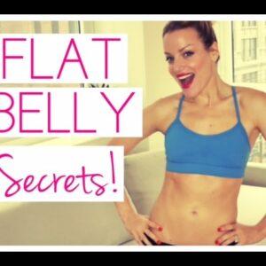 FLAT BELLY SECRETS, secrets to get a flat belly FAST!